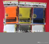 Wholesale Cheap packs Anime Board Games Card Sleeves Card Barrier Card Protector styles A5