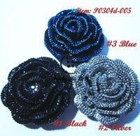 buttons wholesale - 72pcs mm rose buttons dinner dress accessories decorative buckles corsage fur coats big buttons