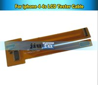 Cheap for 4s lcd screen testing flex Best for iphone 4 lcd tester flex