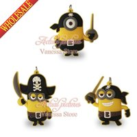 Wholesale Mix Styles New arrival Minions Despicable me DIY Jewelry charms Pendant fit key chains necklace phone bags decoration kids gift
