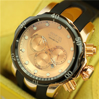 invicta watch - 17 color options high quality dust INVICTA watches explosion models big dial watch