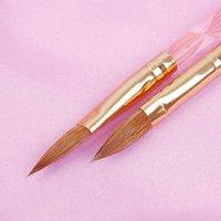 acrylic paint used - set Nail Brushes Acrylic amp Gel dual well use nail art painting brush set nail tools