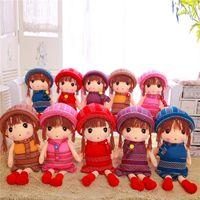 Wholesale Plush Toys Minions Plush My Little Pony Plush Hand Puppets Colors Stuffed Girls Doll POPO GOGO Plush Toys Beautiful Dolls Girls Best Gift