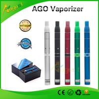 Wholesale AGO G5 Vaporizer electric cigarette click n vape sneak a toke dry herb smoking pipes metal pipes shisha e cigars vapor cigarettes hookah