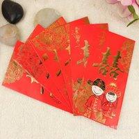 Wholesale Wedding wedding supplies bronzing Lee matter closed envelopes jams mini red