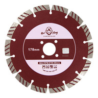 Wholesale 178mm Diamond Saw Blade Disc Segment Dry Cutting Tools for Concrete
