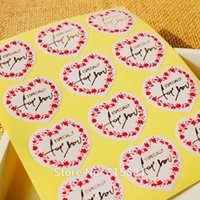 Antistatic adhesive wrapping paper - Heart shaped with gold Especially for you sealing sticker adhesive sticker