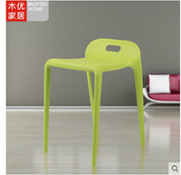 Wholesale Horse chair Contracted and contemporary stools Plastic stools pony stool The standby light stacked chairs