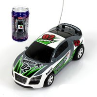 animal rc car - 1PC Coke Can Mini Remote Control Car Racing RC Drift Car Baby Toy Electric Radio Controlled Toys Kit With Light Scale Model A2