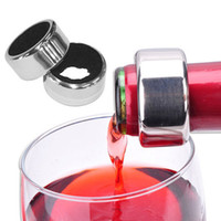 Wholesale Round Stainless Steel Wine Beer Bottle Collar Drip Stop Ring Silver New