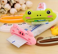 Wholesale Multi Function Automatic Toothpaste Machine Cute Cartoon Toothpaste Squeezing Device Cleansing Cream Squeezer