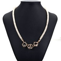 Wholesale Newest stardust necklace mesh chain with full resin crystal inside crystal charm necklaces
