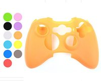Wholesale New XBOX360 Soft Silicone Gel Protective Sleeve Case Skin Cover for PlayStation PS4 Xbox one XBOX Controller Factory Price Mix Colors