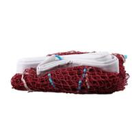 Wholesale new Standard Badminton Nets Portable Rainproof Professional Badminton Net M Red Color