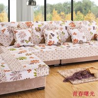 beige sectional sofas - beige flower sofa cover sectional couch armrest covers sectional sofas slipcovers for sofa hometextile