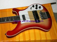 Wholesale Cherry Burst strings Electric Bass Custom Bass high quality hot