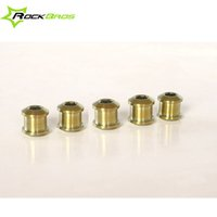 Wholesale MTB Mountain Bike Road Bicycle Bolts Titanium Screws Nut For Chain Wheel Bicycle Accessories