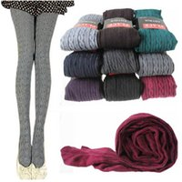 Wholesale 5 Color Lady Girl Thin Pantyhose Legging Stockings Female Autumn Winter Socks Women Cotton Step Foot Tights Leggings