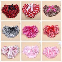 Wholesale Hot sale Baby girl Briefs underwear TUTU PP pants bloomers Ruffles dots pp pants kids toddler underwear clothing free ship