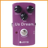 Wholesale Hot Sale JOYO JF US Dream Distortion Guitar Effect Pedal True Bypass High Quality Guitarra Effect Pedal Via DHL