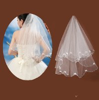 adorn ivory - Cheap White Ivory Bridal Veil Elbow Length For Bride s Wedding Hair Accessories Bow Adorned