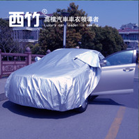 Wholesale New arrival Hot sale Silver waterproof UV protection nylon full car cover Special car cover all type car fittable