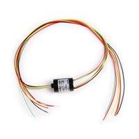 Wholesale 2015 NEW Wires A mm Rpm U Type Mini Capsule Slip Ring ZSR012 U