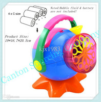 Cheap Free shipping Big Size Outdoor Bubble BlowerToy,Battery Operated Bubble Machine With Lots of Soap Bubles bolhas de sabao For Kid