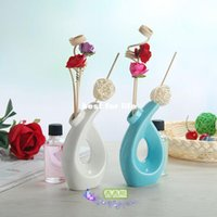 Wholesale No fire Aromatherapy Kit dried rattan bedroom room perfume fragrance within sandalwood incense ceramic office
