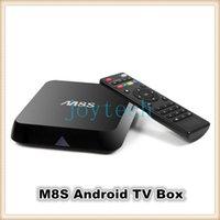 2g plugs - Good quality M8S Ott TV Box G G Dual band G G wifi Android Amlogic S812 tv box M8S HD P Media Player with EU AU US UK Plug