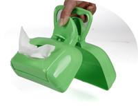Wholesale Pet Clean environment supplies New Portable Pet Dog Cat Pooper Scoopers pet toilet cleaner