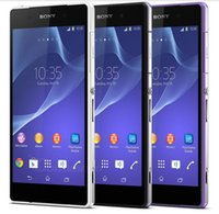 Wholesale Original Sony Xperia Z2 L50w G Lte Quad Core x pixels MP Camera WIFI GPS mAh GB GB Phone