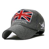 Precio de Casquillo bretaña-Bretaña Reino Unido gorra de béisbol Inglaterra por mayor-paño 1pcs 3color sombrero de invierno masculinos femeninos el envío libre