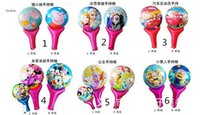 peppa pig - Frozen Despicable Me peppa pig Blow Cheering Sticks Foil Balloons Helium Ballons For Party Decorations cm