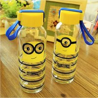 Wholesale 20pcs Car Water Cup Cartoon Minions Despicable Me glass Texture Suction Cup Vacuum Cup ML