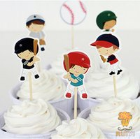backyard party decorations - 72pcs Everyone s Hero Cupcake Toppers Picks birthday wedding party decorations Backyard Sports event party favors