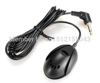 Wholesale 3 mm CS Y0003 External Microphone Mic for Car DVD Stereo Radio Player HeadUnits order lt no track