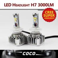 Cheap 2PCS H7 CREE SMD LED 60W 6000LM Set Plug & Play STRONG WHITE BULB light lamp HEADLAMP DRL DAYTIME DRIVING FOG HEADLIGHT W  Fan