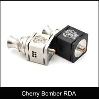 2015 Newset Cherry Bomber RDA atomizador vaporizador de control de flujo de aire para bombardero cereza mod Rey mod stingray X mod VS Doge X V2