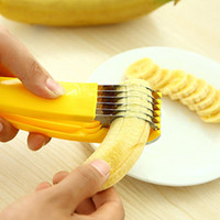banana knife - 201 Banana slicers environmental cut banana artifact fruit knife cut the ham sausage banana cutter