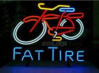 al por mayor neumáticos para vehículos comerciales-Gordo Logotipo de la bici de la bici Logotipo de neón de la tienda de la motocicleta de la tienda de la tienda de la tienda de la barra de la tienda de la exhibición de la venta de las compras 17