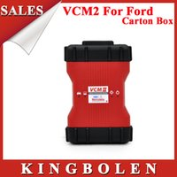 Cheap 2015 New Arrival Professional Diagnostic Tool For Ford VCM II IDS Multi-Language+Carton Box+3 CD Software+Free Shipping