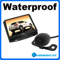 Wholesale High Quality Waterproof TV Lines GHz Wireless Car Back Up Camera quot Color LCD Car Rearview Camera Monitor CM13