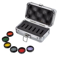Wholesale New inch Eyepiece Kit Colored Filters Moon Skyglow Filter Metal Case For Telescope W2407A