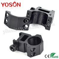 Wholesale 2pcs Universal Single Hole mm quot Medium Profile Rings Fit mm Weaver Picatinny Rail Scope Mount
