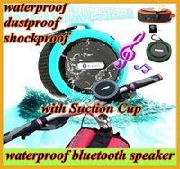 sound box - Waterproof c6 Bluetooth Speaker Suction Cup speakers Handsfree MIC Voice Box wireless portable dustproof shockproof bluetooth