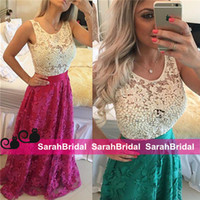 arabic ladies gown - Color Block Arabic Evening Dresses For Ladies Womens Formal Occasion Wear with White Pearls Lace and Appliques Long Skirt Party Gowns