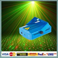 laser show equipment - Blue Mini Laser Stage Lighting mW Green Red Firefly Laser DJ Party Equipment Stage Light Black Disco Dance Floor Lighting Projector Show