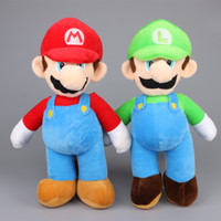 Wholesale 100pcs Super Mario inch Soft Plush mario luigi plush toy stuffed doll for kid Best gift High Quality