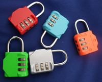 Wholesale new luggage combination lock Clothing padlock to travel abroadnew high quality